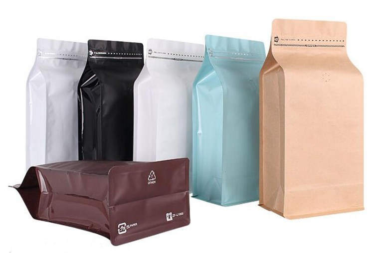 colorful  coffee bags
